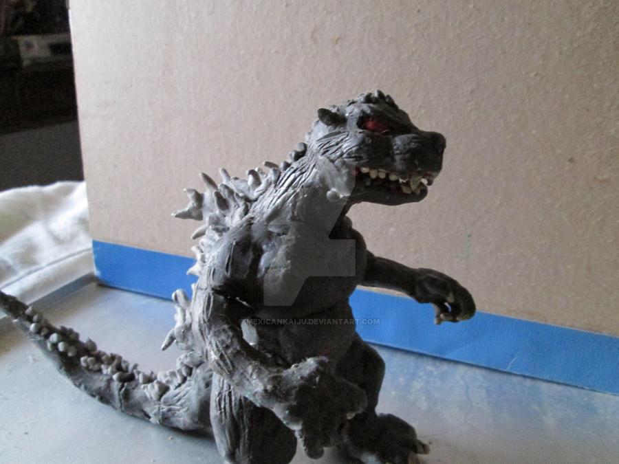 Godzilla Clay Figure By Mexicankaiju On Deviantart