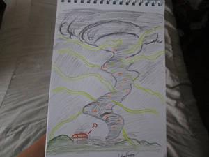 Magnetic Tornado