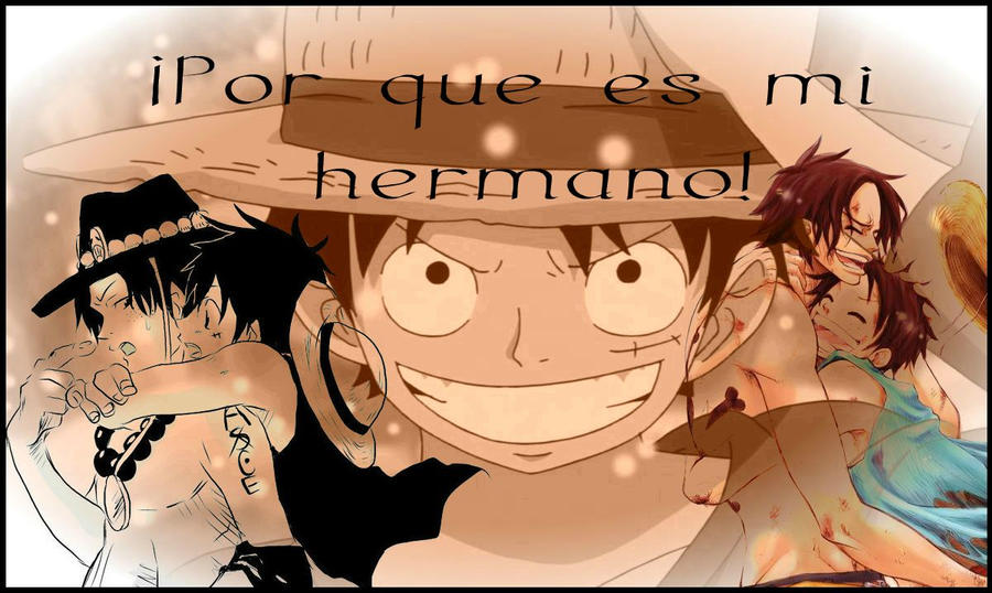 brothers luffy and ace wallpaper - photo #9