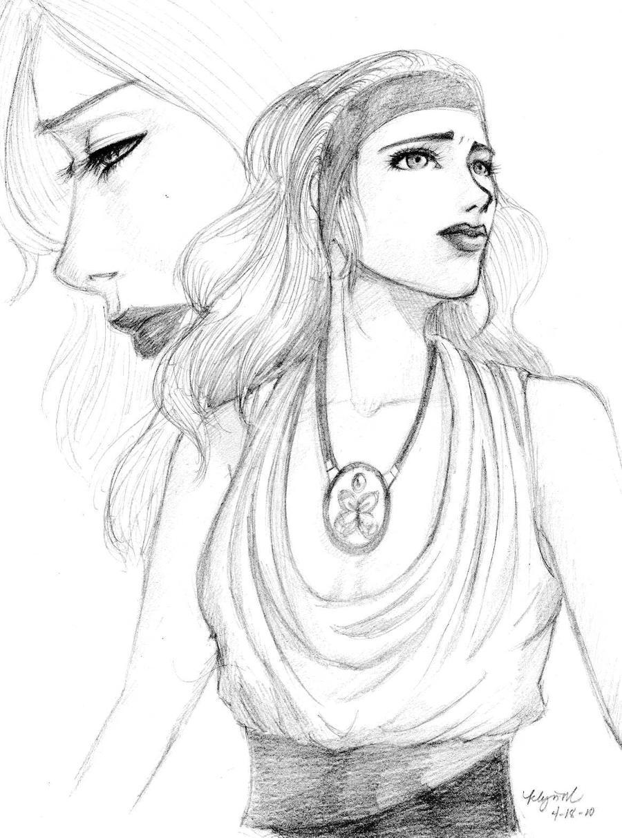 demeter greek goddess drawing - photo #24