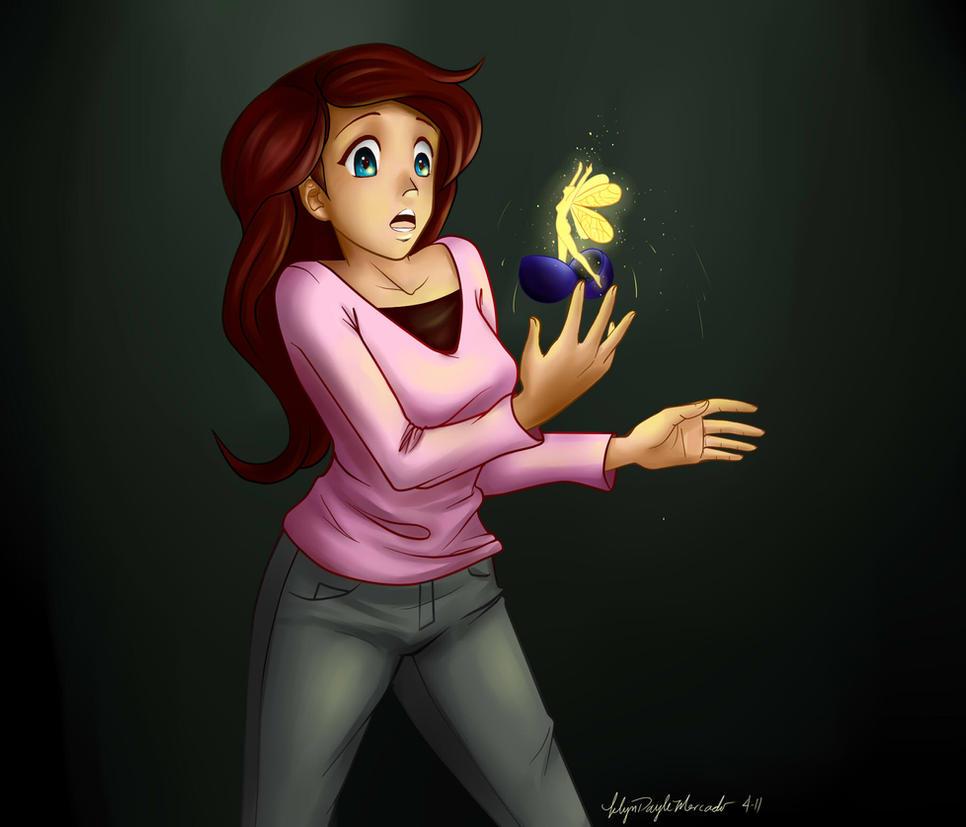 fairy in a ball by dracaena-akira