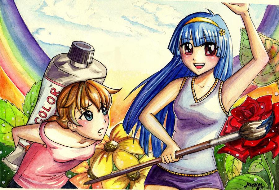 Let's paint the world by dracaena-akira