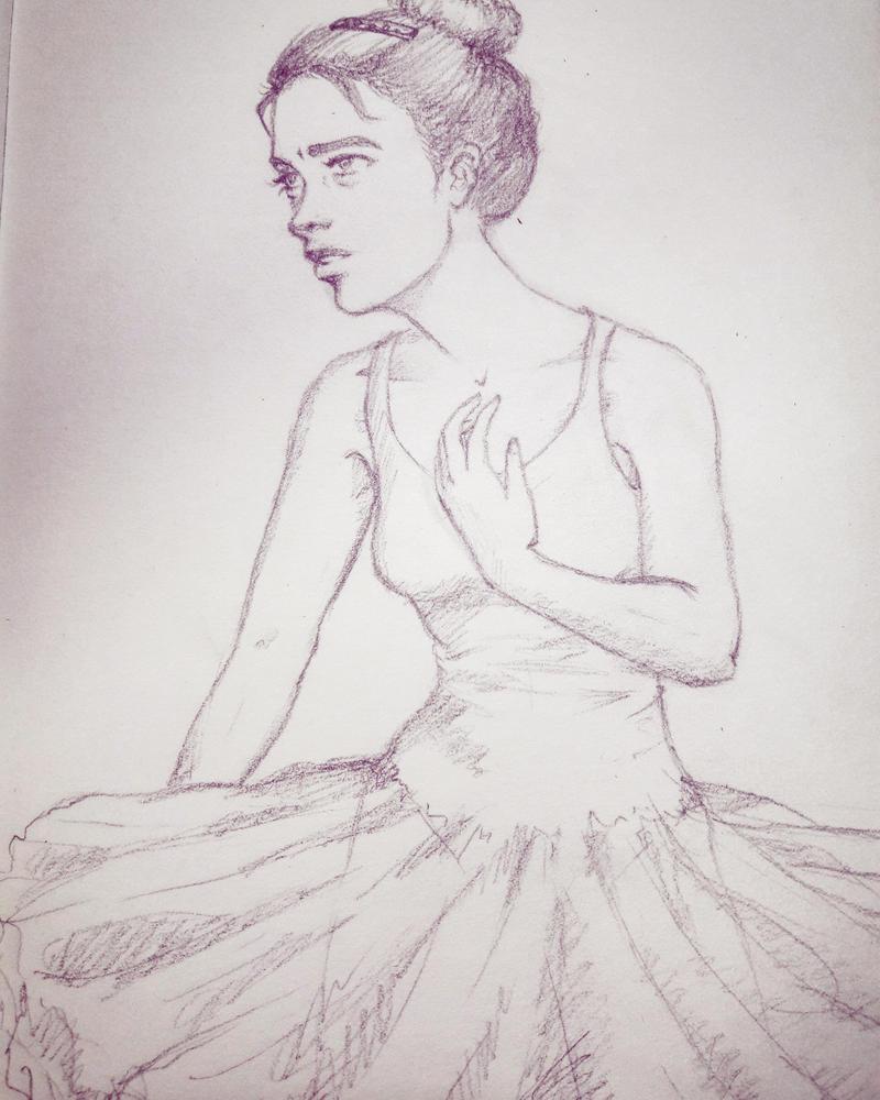 A dancer's fear by dracaena-akira