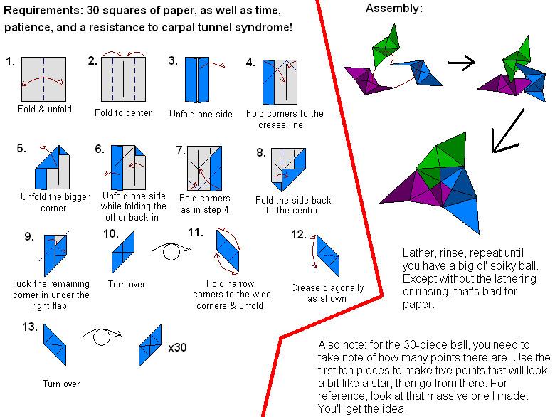 30 Absolutely Beautiful Origami Kusudamas   586x780