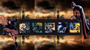 Batman Black Canary Wallpaper