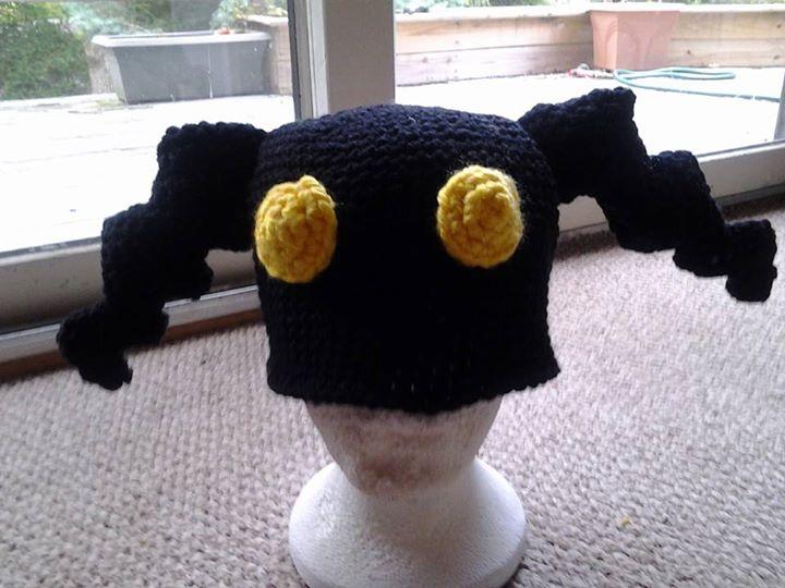 Kingdom Hearts Free Crochet Patterns : Kingdom Hearts Heartless Hat - Adult by animephoenix on ...