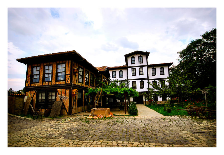 traditional Turkish house by chirkhef