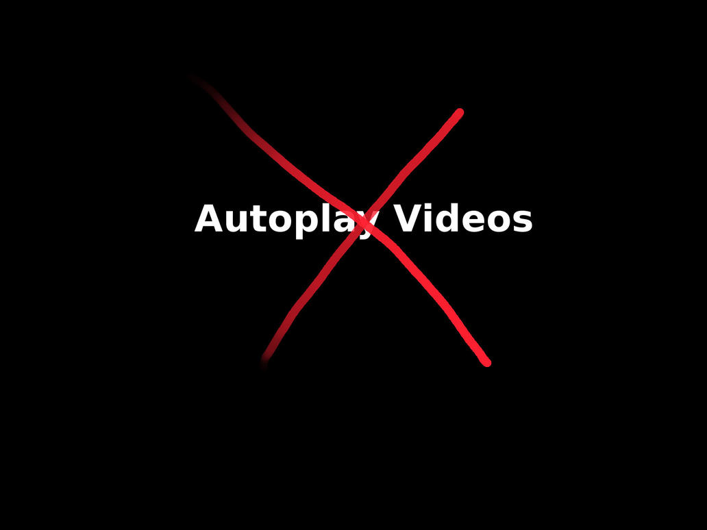 how to stop videos auto play in nine.com.au
