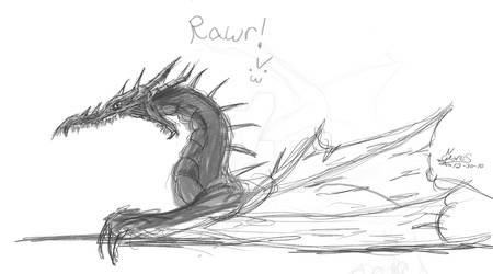 Dragon Sketch...