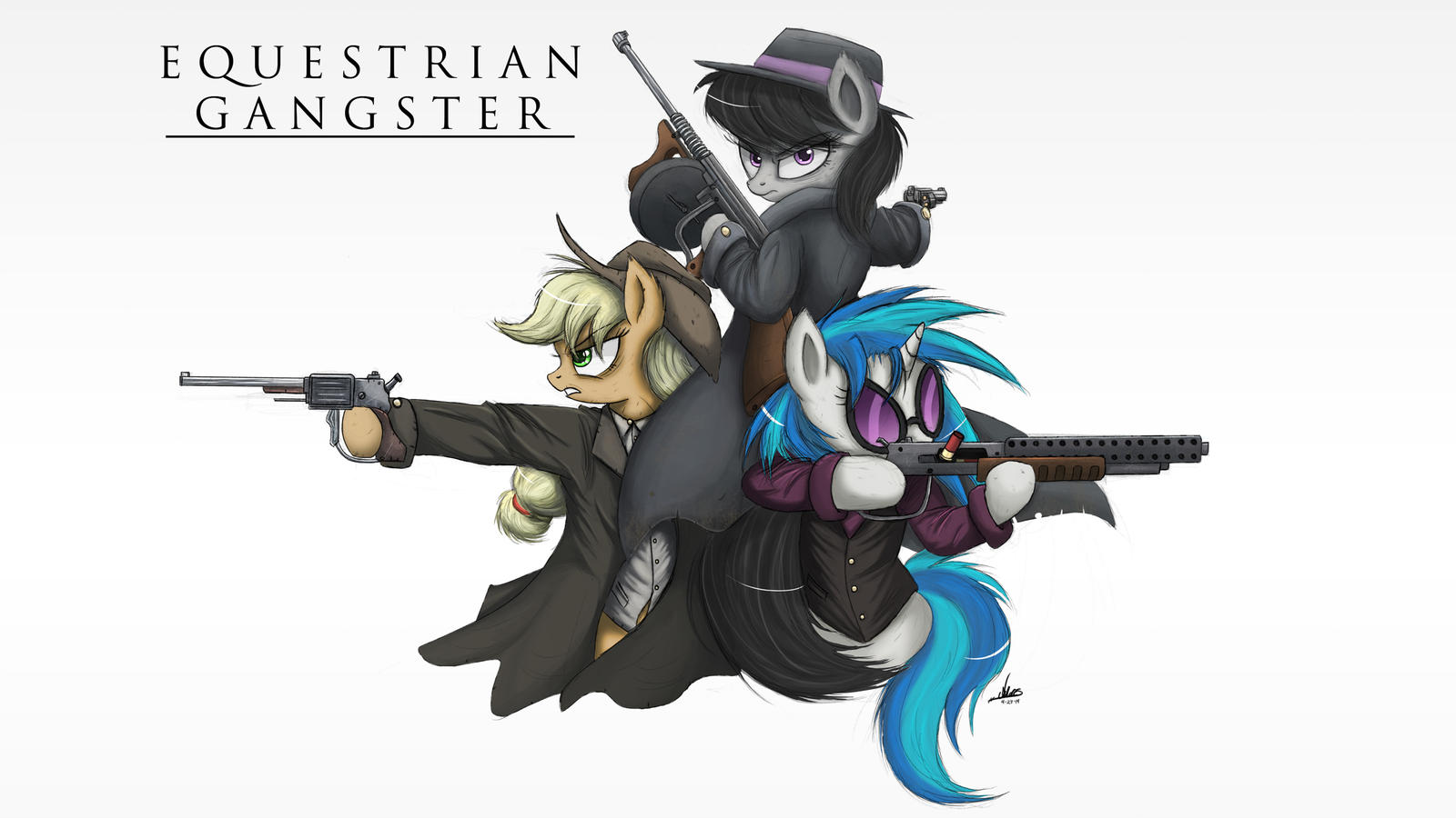Equestrian Gangster