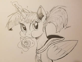 Inktober 2017 : Munchies by NCMares