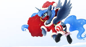 Luna Claus by NCMares