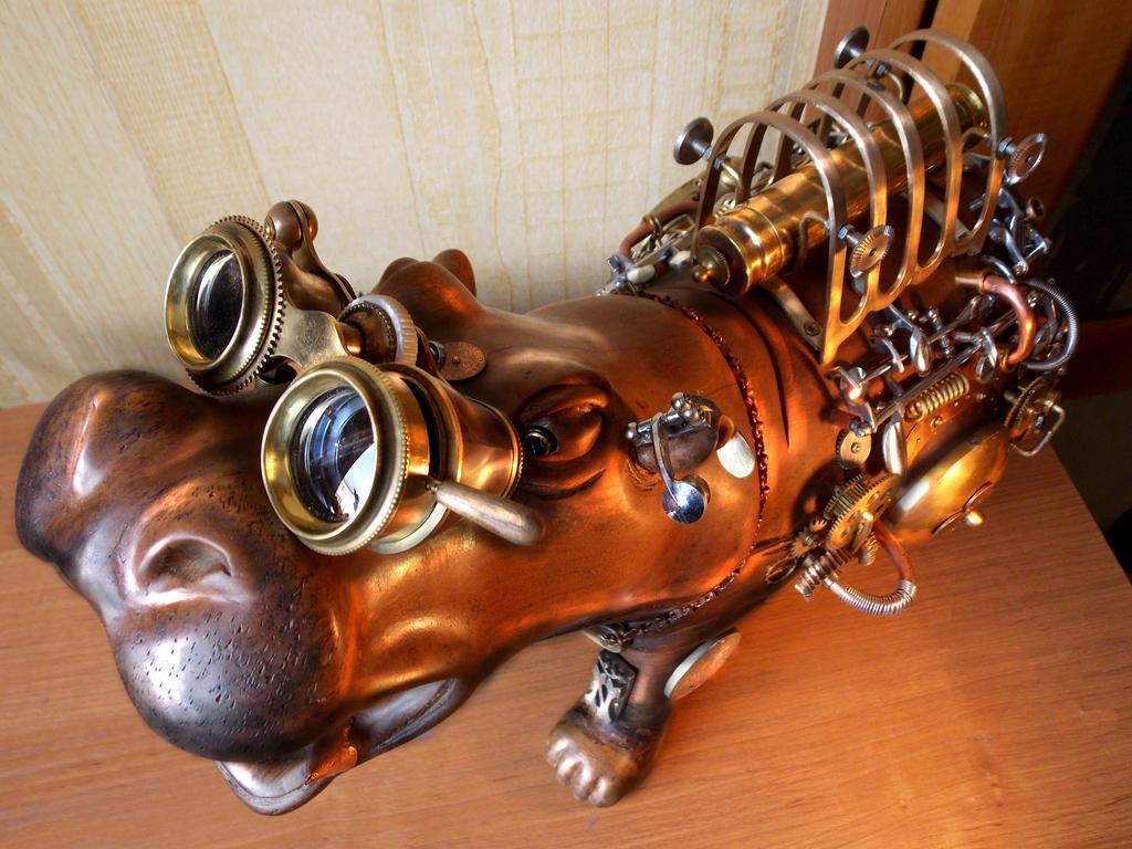 Hippopotamus-safe 3 by Albegoyec