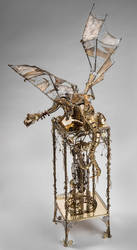 The clock dragon 4 by Albegoyec