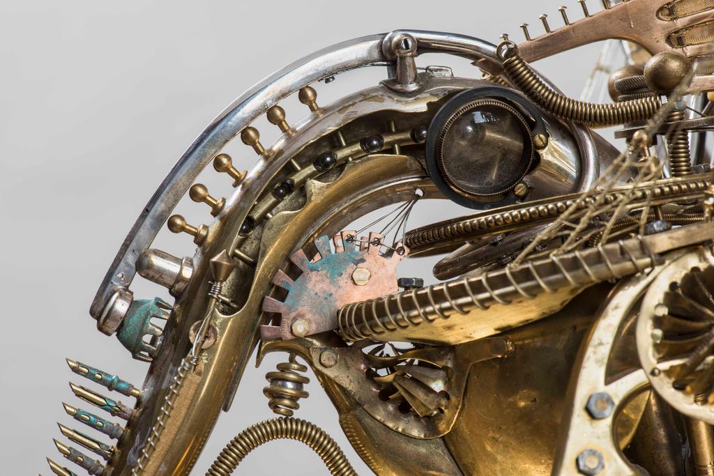 The clock dragon 10 by Albegoyec