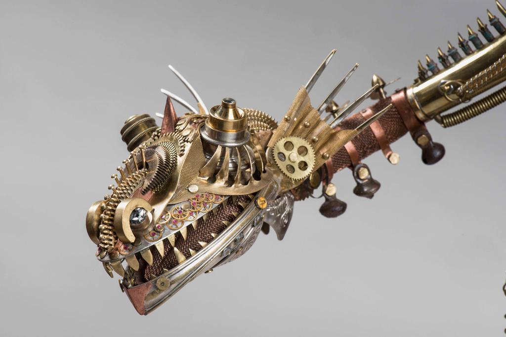 The clock dragon 12 by Albegoyec