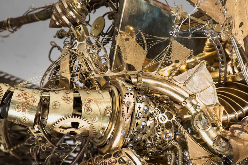 The clock dragon 14 by Albegoyec