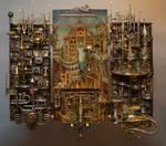 Golden City 1 by Albegoyec