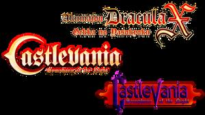 Castlevania - Symphony of the Night Logos