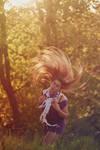 dancing hair, spring