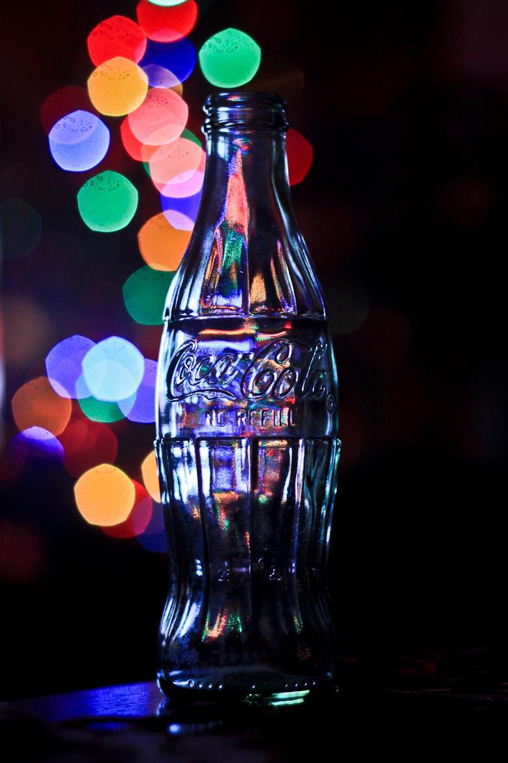 Christmas bottle by Zi0oTo