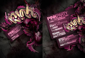 PINK PARTY FLYER