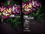 PINK PARTY FLYER REMIX