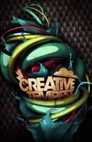 Creative Tempest Poster by Demen1