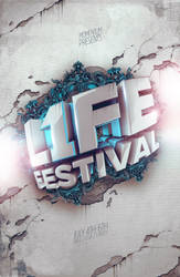 L1FE Festival Limited Edition Poster