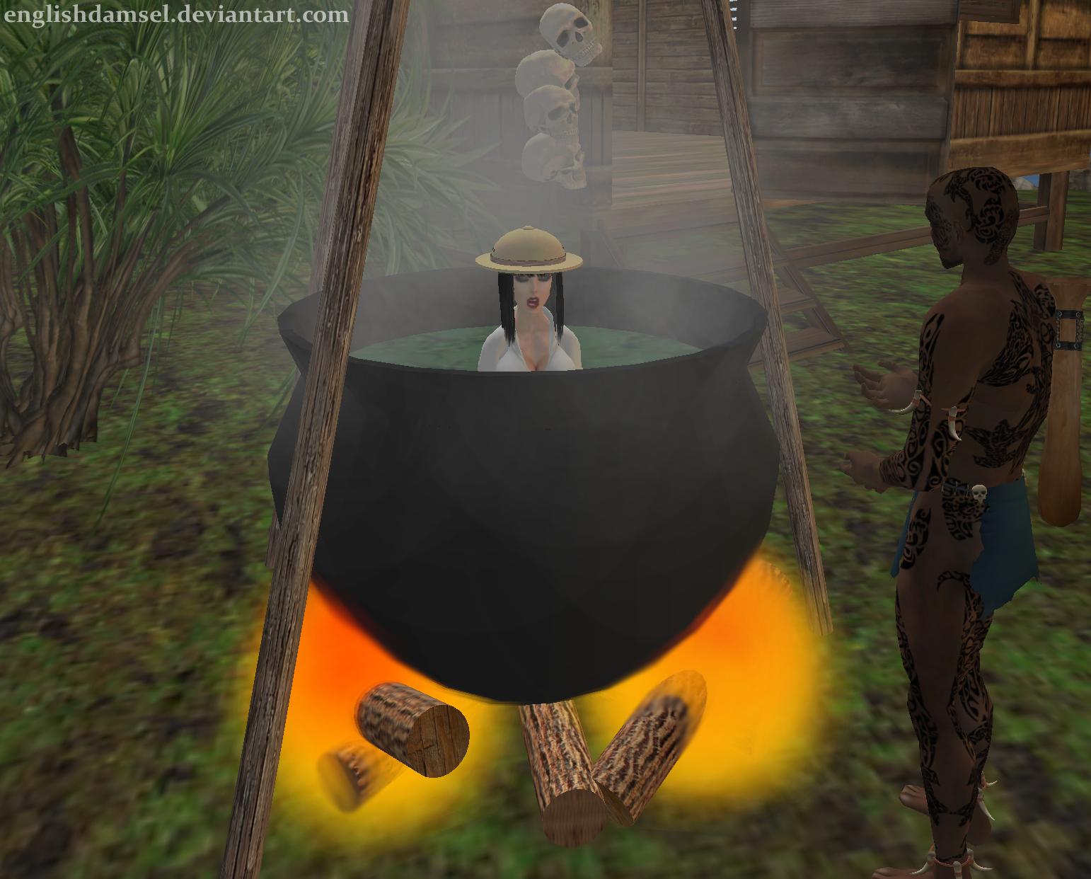 Penelope in the Pot by EnglishDamsel on DeviantArt