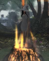 She Must Burn Under the Hunter's Moon
