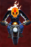 Ghost Rider by Lamonicana