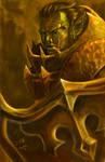 Orc Warrior by cuervojose