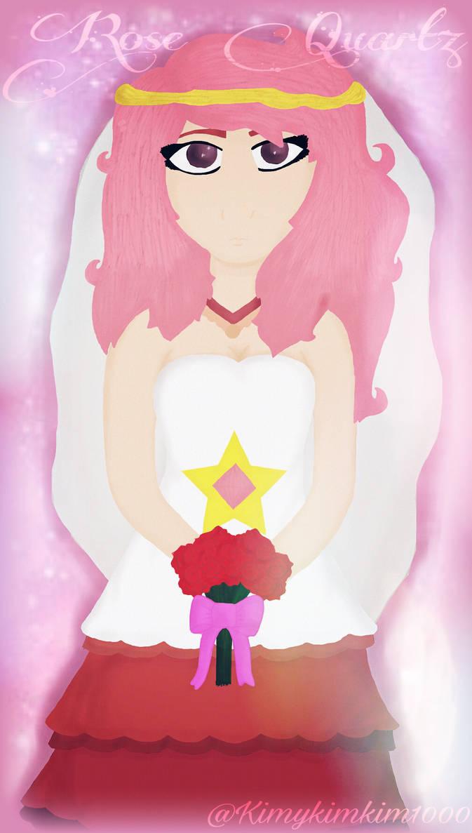 FanArt: Rose Quartz (Steven Universe) by kimykimkim1000 on