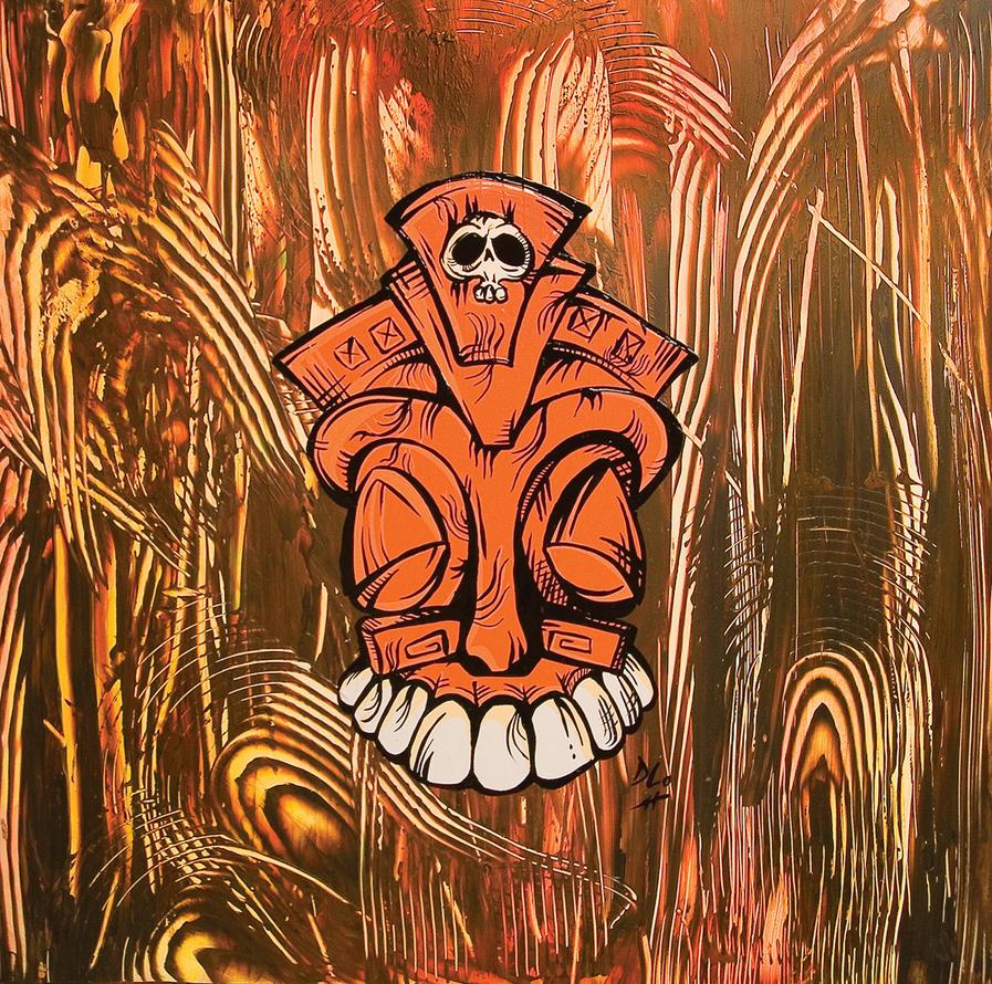 Orangina Tiki by clysdale