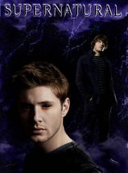 Demon Dean and Evil Sam by Pandora-Gold-Photo