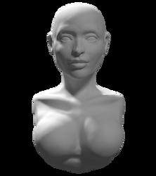 Another head sculpture