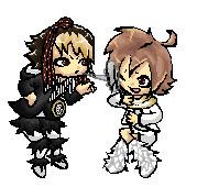 Miki and Yuki by xNIR0x