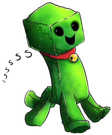 Creeper pet by xNIR0x