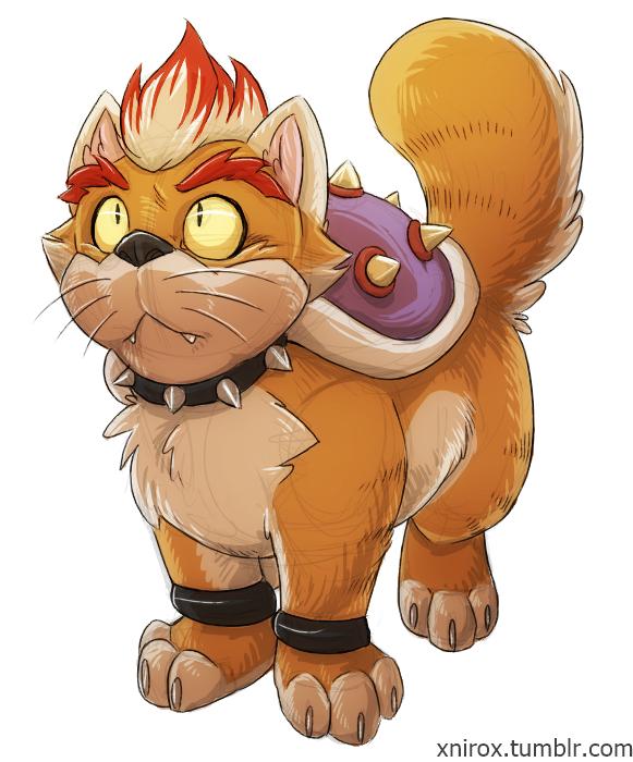 Mini jeux: comment représentez vous les membres du forum? - Page 9 Cat_bowser_by_xnir0x-d738agw