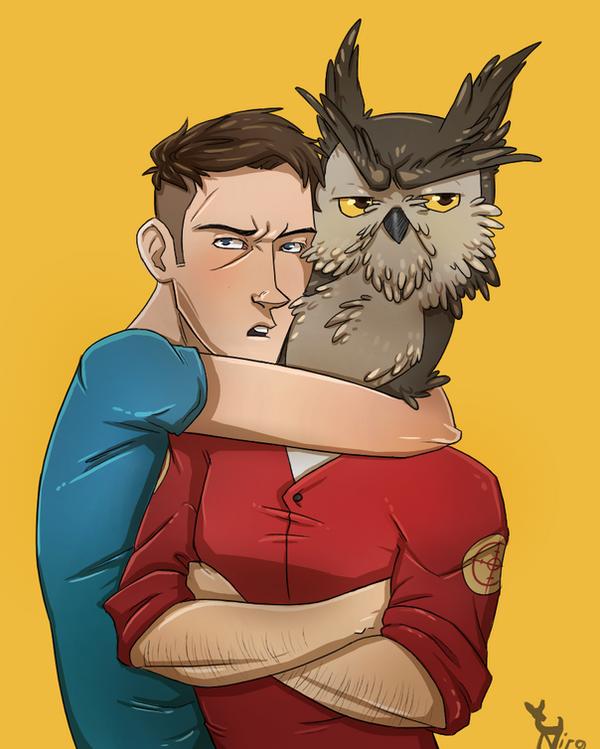 Don't mess with his bird boyfriend by xNIR0x
