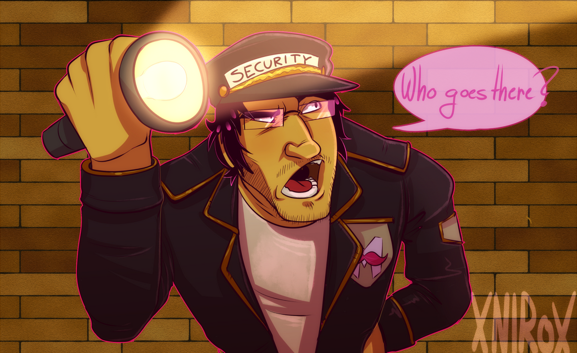Security guard Mark! by xNIR0x