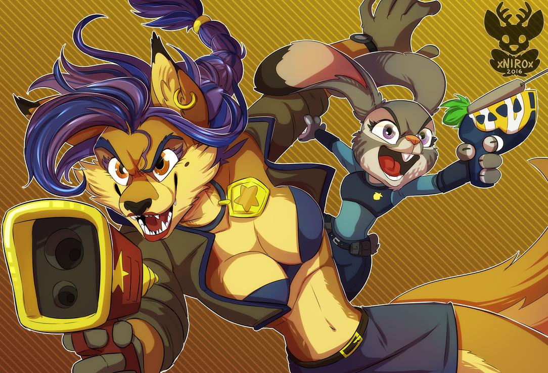 Yay crossovers! by xNIR0x