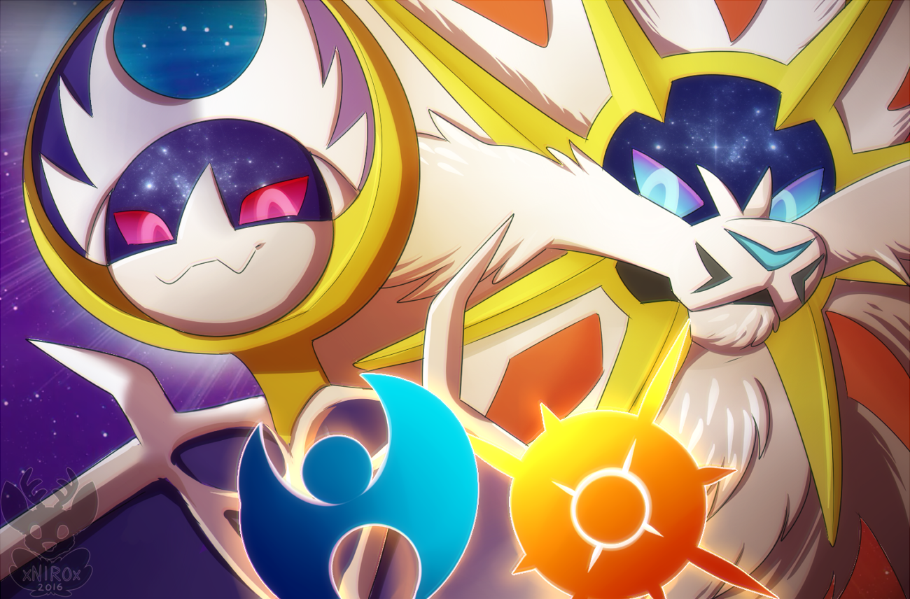 Pokemon Sun And Moon Wallpaper: Pokemon Sun And Moon By XNIR0x On DeviantArt