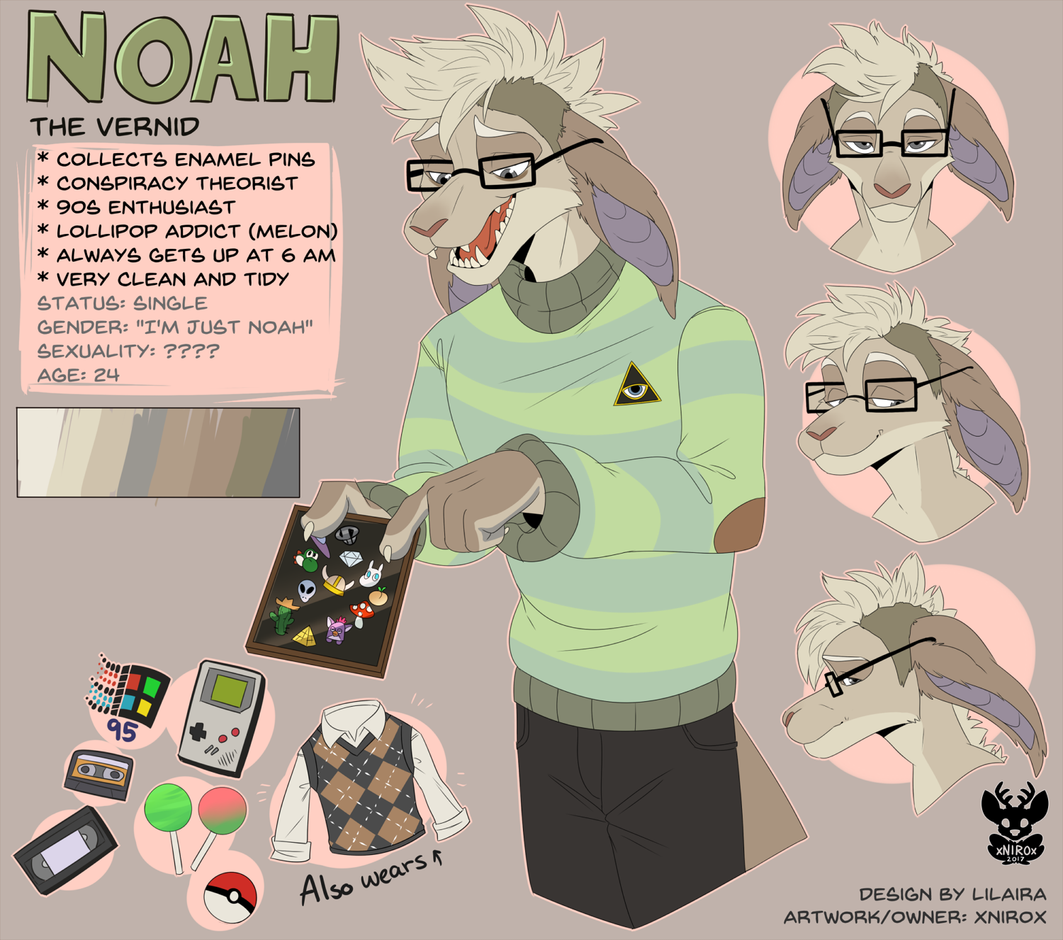 Noah the Vernid by xNIR0x