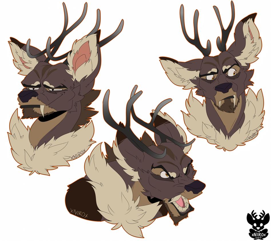 Deerboy times 3 by xNIR0x