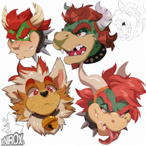 Bowser sketches