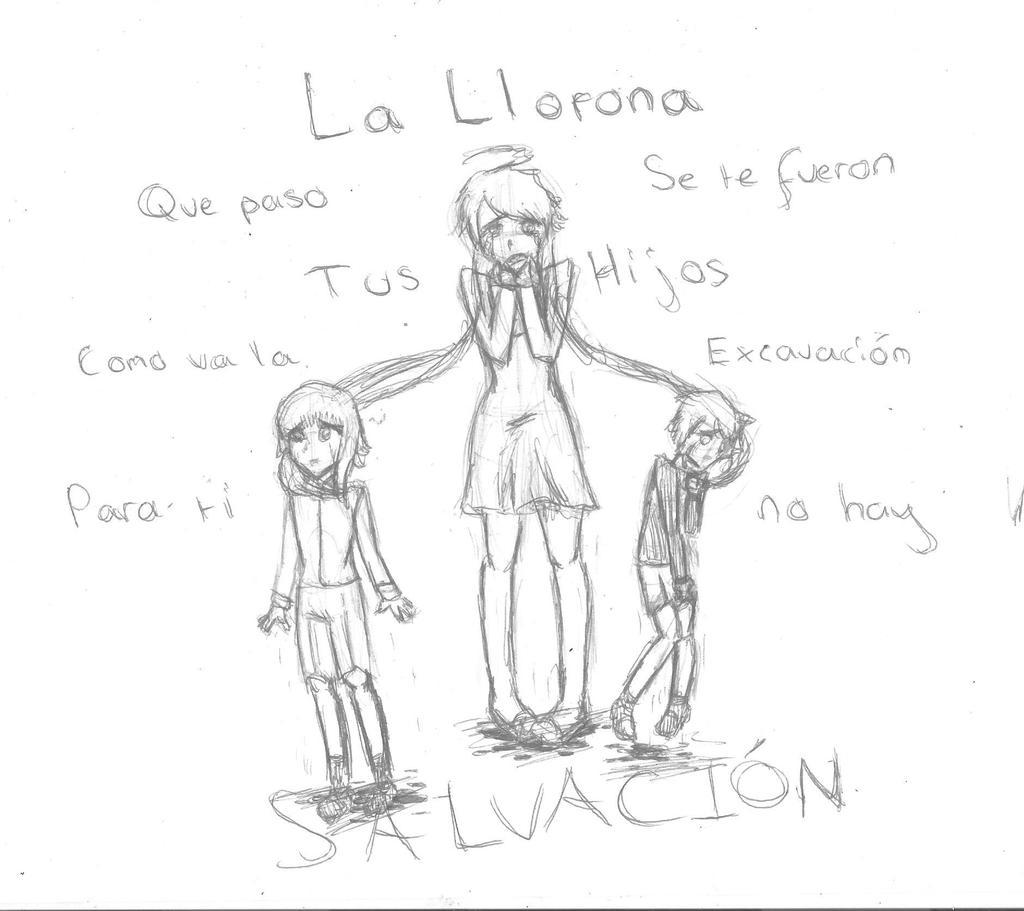 La llorona vocaloid sketch by zeldagamer11 on deviantart