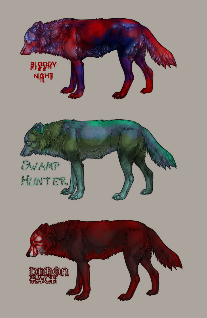 Free wolf adoptables CLOSED by DreamerTheTimeLady