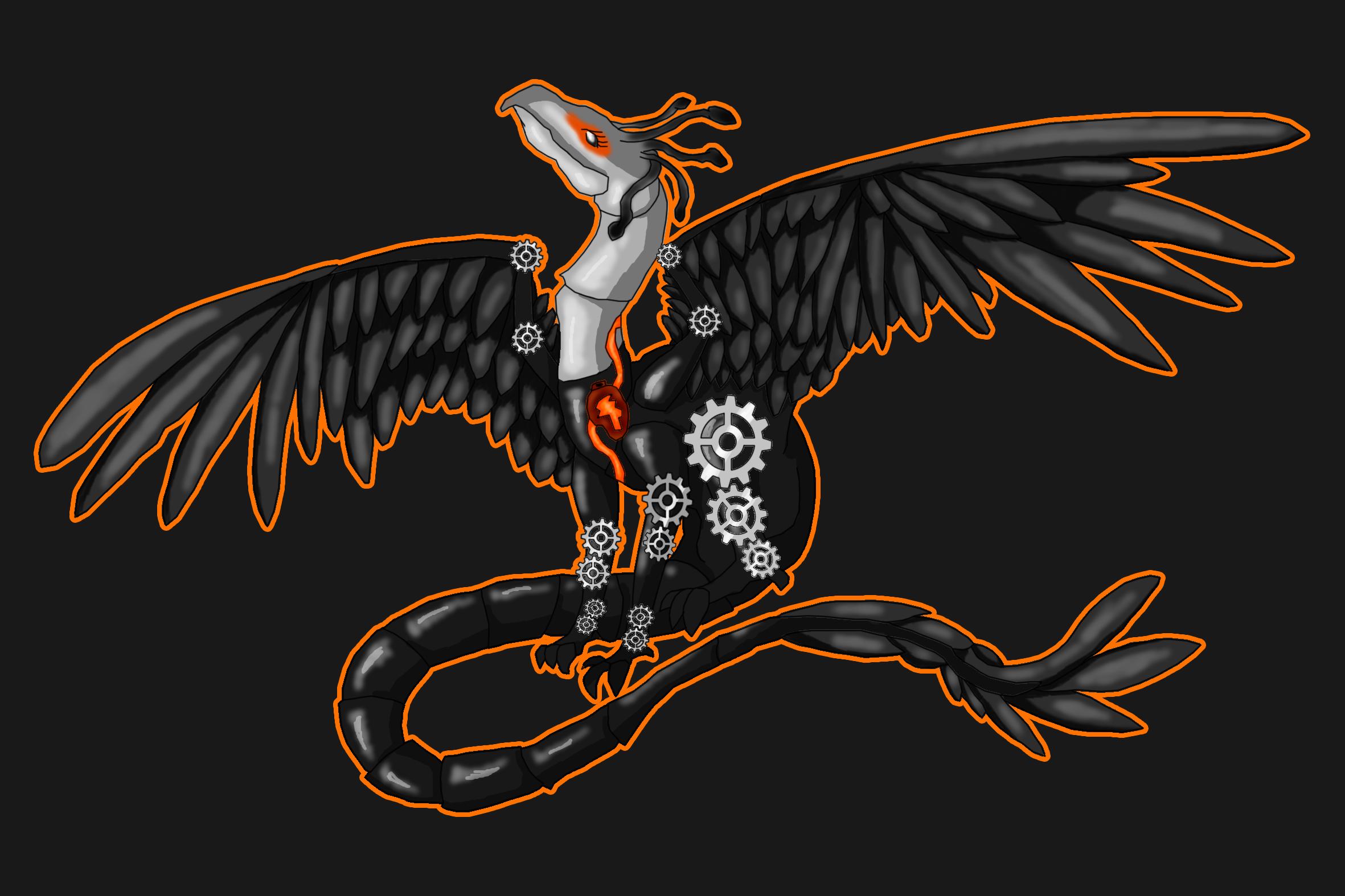 PROJECT SoI: Secretary Bird by DreamerTheTimeLady